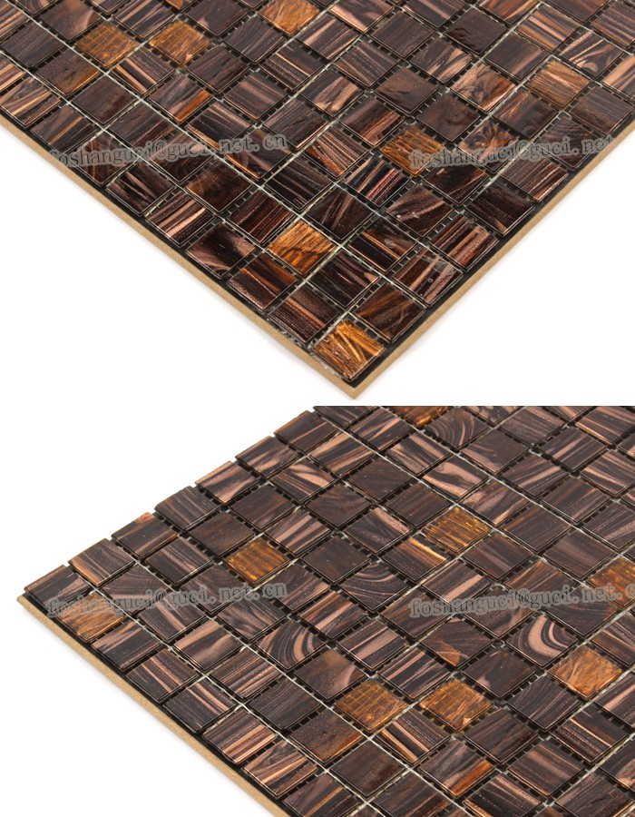 cheap mosaic tile mixed Hot - melt floor and wall mosaic tiles