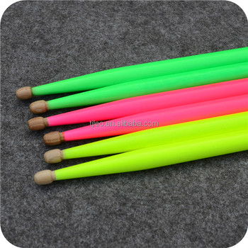 Glow color American Hickory 5A Drum sticks