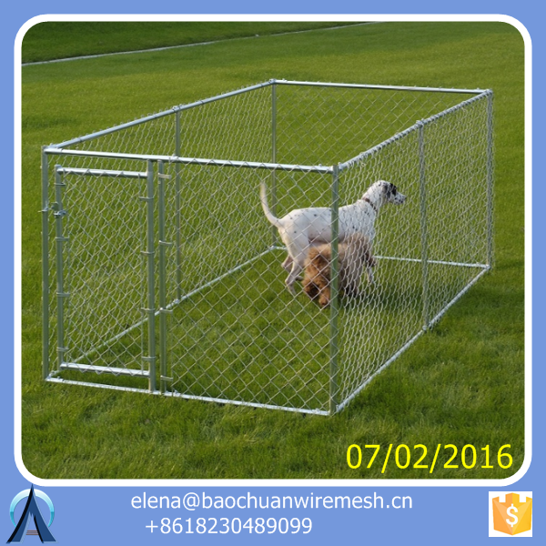 dog kennel / dog cage / pet kennel / Dog Kennel Panels Used Chain Link Fence Panels