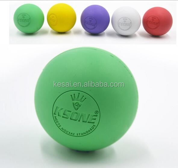 Rubber lacrosse ball,ncaa lacrosse ball