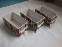 China wholesale collapsible durable decorative storage cubes