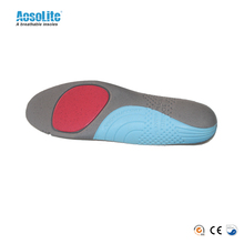 Soft PU anti-slip arch support sport energy orthotic insole