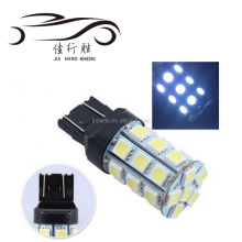 T20 w21/5w 7443 led 5050 27 SMD T20 led light 7440 27 SMD 5050 auto reserve brake led light bulb