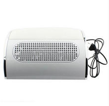 Easy Apply safe ABS plastic electric nail art 3 fans manicure table dust collector