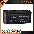 Discharge current electrical 12V superior 65ah battery rechargeable