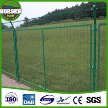 china supplier factory wholesale multi-functiona ornamental double loop wire fence