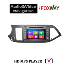 Android 4.4 Dual Core Touch Screen Car DVD GPS Navigation with free mirro link&airplay