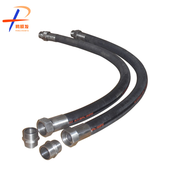 SAE EN high pressure rubber hose with steel wire