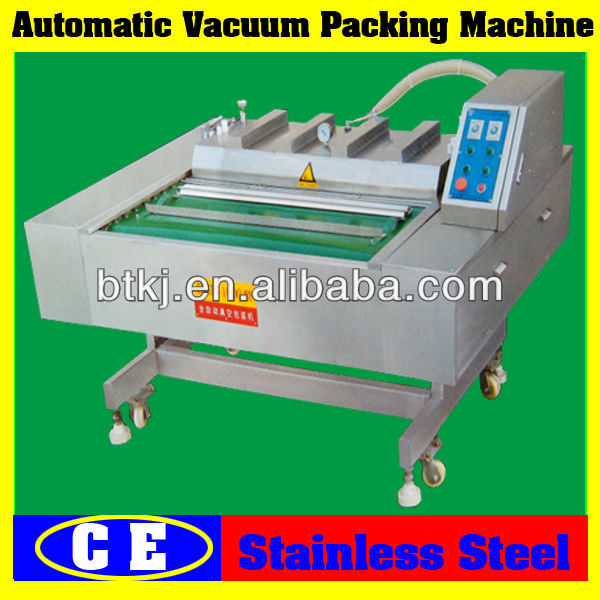 Easy Control Bread Vacuum Packaging Machine with Preservative Film,Automatic Continuous Bread Vacuum Packing Machine for Sale