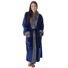 arabic women robe warm blue robe
