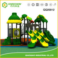 Colorful Outdoor Playground Equipment Slide A