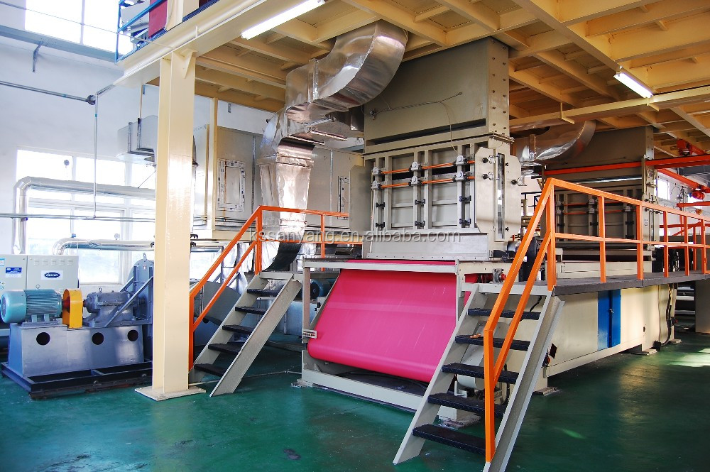 High speed pp spunbond nonwoven fabric production line