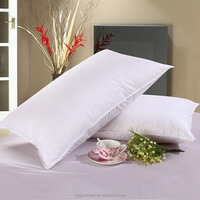 wholesale cotton head pillow for 5 stars hotel goose down / feather pillow inserts Qeko-Tex ceritification