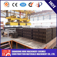 Automatic clay brick manufacturing plant made in China