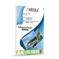 Best price 150gsm self-adhesive photo album paper A4(GSB-SAPPA415080)