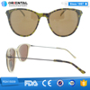 Populer promotion cheap demix frame sunglasses free sample custom sunglasses