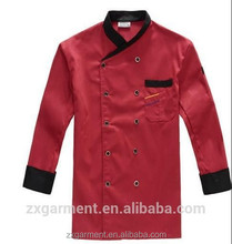 Fashion customized indian fast food hotel restaurant service staff kfc uniform