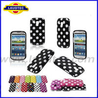 Soft Polka Dot TPU Skin Cover Case for Samsung Galaxy S Duos S7562