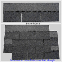 Competitive price fiberglass modified bitumen, 3-tab gray asphalt roofing shingles Manufacturers