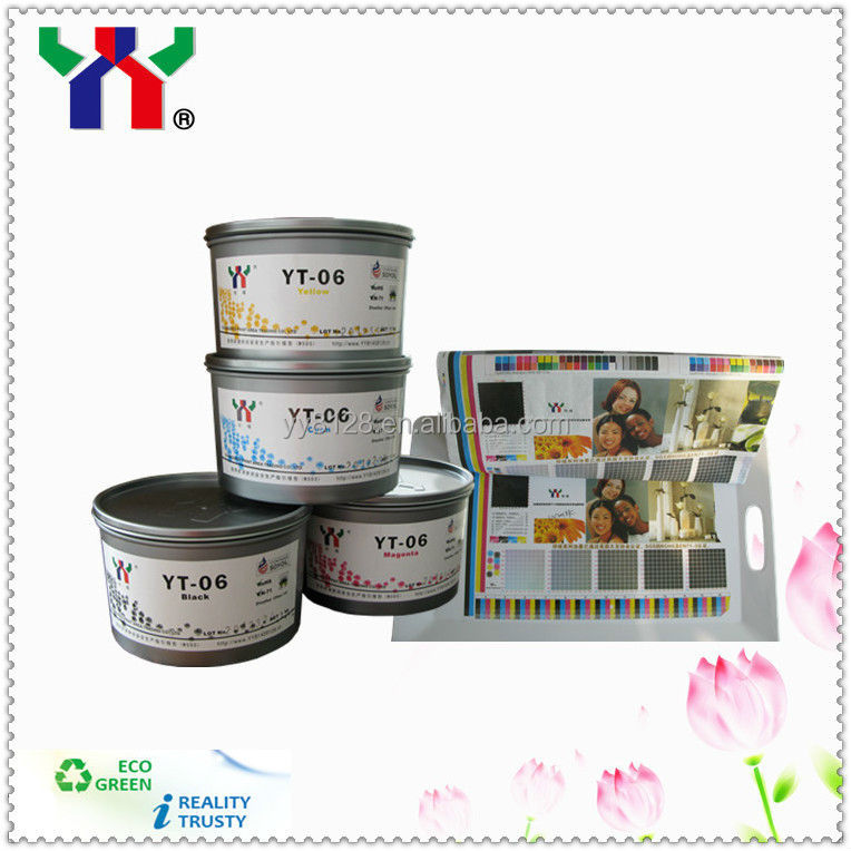 Manufacturer YT-06 Eco Soya Offset Process Melamine Resin Printing Ink