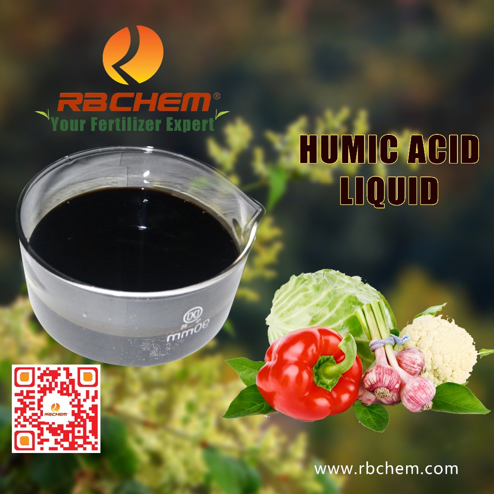 RBCHEM Manufacturer Organic Fertilizer Humic Acid Liquid Good Quality