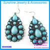 2015 latest design resin earring jewelry wholesale