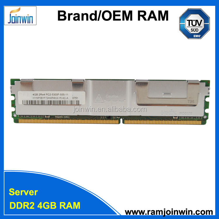 Support REG ECC ddr2 4gb server memory