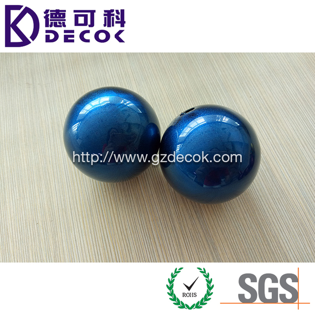 Natural/ Blue/ Yellow/ Purple/ Red/ Orange Decorative Christmas Ornament Shatterproof Stainelss Steel Hollow Ball 2 Inch 51mm
