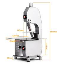 UT Machinery Hot Selling band saw for cutting meat| Price meat bone saw cutting machine