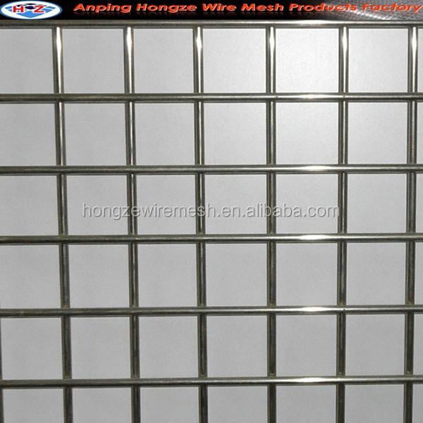 Galvanized Welded Mesh/welded Wire Mesh Panel/steel Matting (iso9001 ...