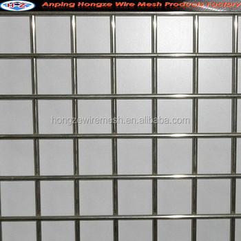 Galvanized Welded Mesh/welded Wire Mesh Panel/steel Matting (iso9001 ...
