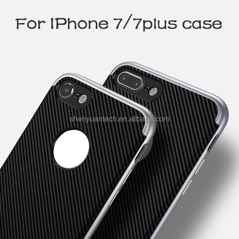 2016 Ultra Slim Colorful TPU+PC Case for Apple iPhone 7,for iPhone 7 tpu case
