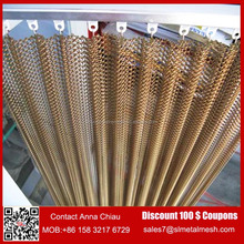 Aluminum Fabricoil Flexible Metal Mesh Fabric