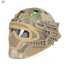 tactical helmet Canis Latrans Tactical military full face mask helmet for hunting HK9-0077