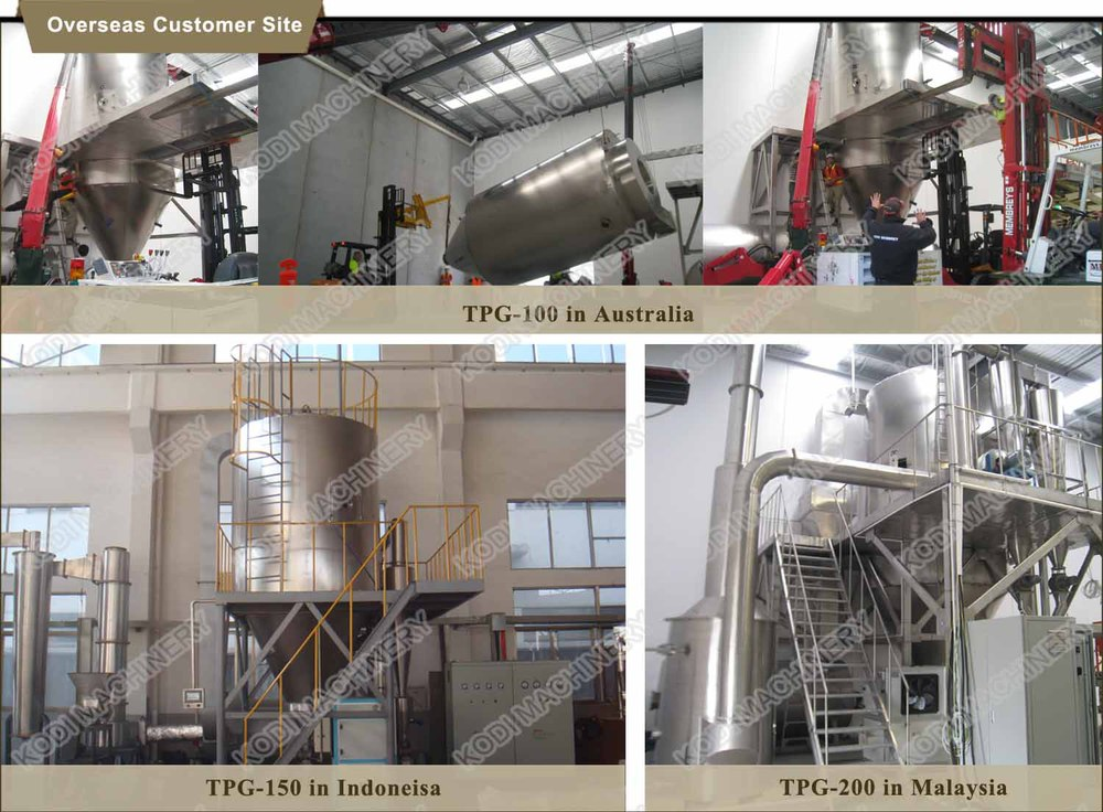food ingredients spray dryer