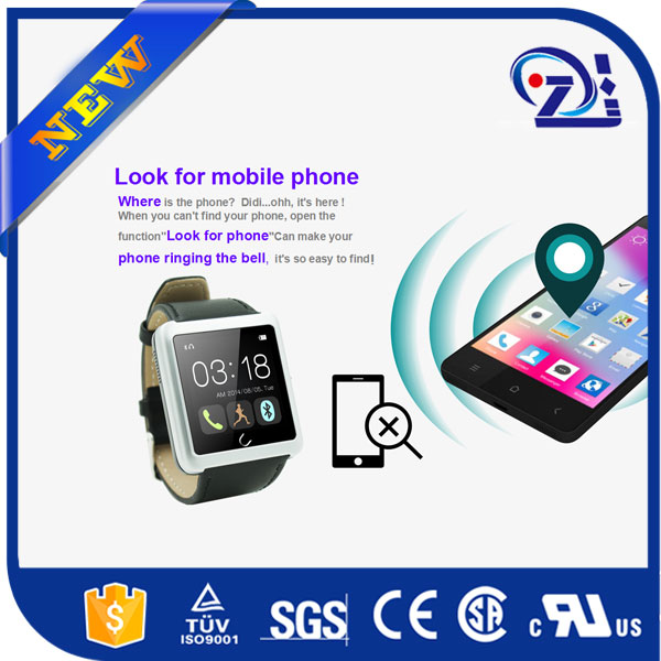 new products 2016 smartwatch android mobile phone u8 smart watch for andriod and iphone 6
