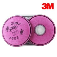 3M Particulate Filter 2097,P100 Respiratory Protection, with Nuisance Level Organic Vapor Relief