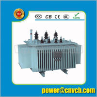 35KV 33KV three-phase S11 30~2500kVA oil immersed power transformer