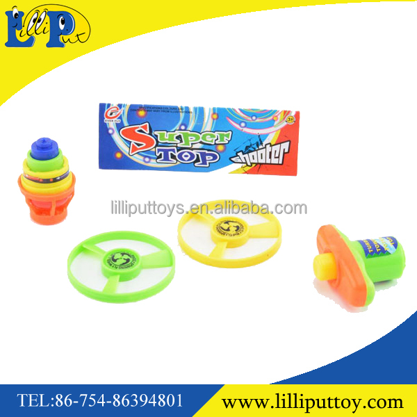 Handlebar flying saucer lighting spinning top toy for kids