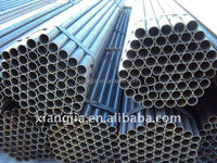 Oil&gas construction material tool pipe black scaffolding pipe