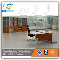 Factory Price ISO Standard Size Secretary Office Table ,Computer Table And Chair D3031