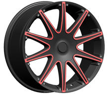 New products alloy wheel rims with red line F90261