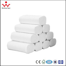 China supplier good quality wholesale price toilet tissue paper roll with white and brown color