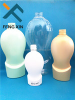 unique shampoo bottles for cosmetic packaging manufacture