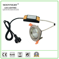 High Power 12W COB Dimmable LED Commercial downlight with clipsal dimmer