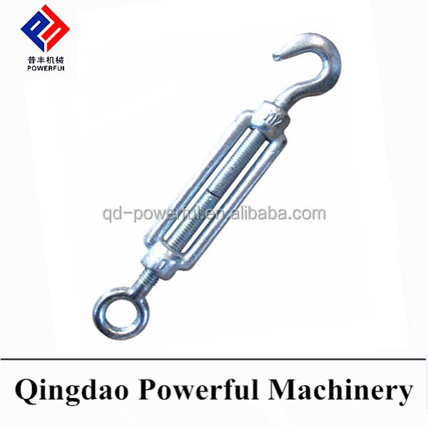 DROP FORGED STEEL STANDARD CONSTRUCTION DIN1480 PLATE TYPE STUB TYPE TURNBUCKLE