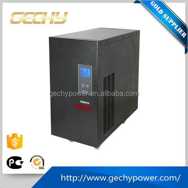 10KVA pure sine wave Online interactive universal lcd power supply/Uninterrupted Power Supply ups for office equipment