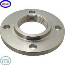 asme b16.5 Threaded carbon steel astm a105 forged flanges