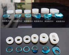 Making Ring Jewelry Equipments DIY Tool Mould Silicone Jewelry Making Hole