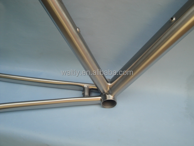 Titanium material 700c city road bike frame for kids